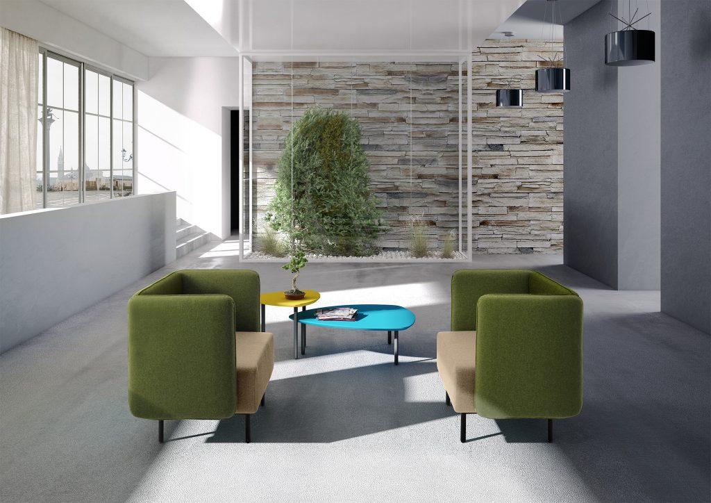 Calesita Sofa Dialog grün