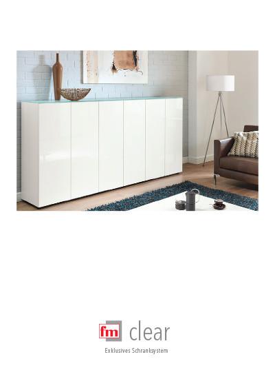 fm Büromöbel Produktkatalog - clear