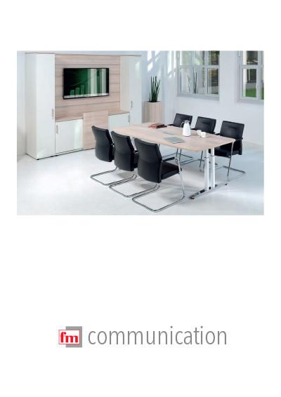 fm Büromöbel Produktkatalog - communication