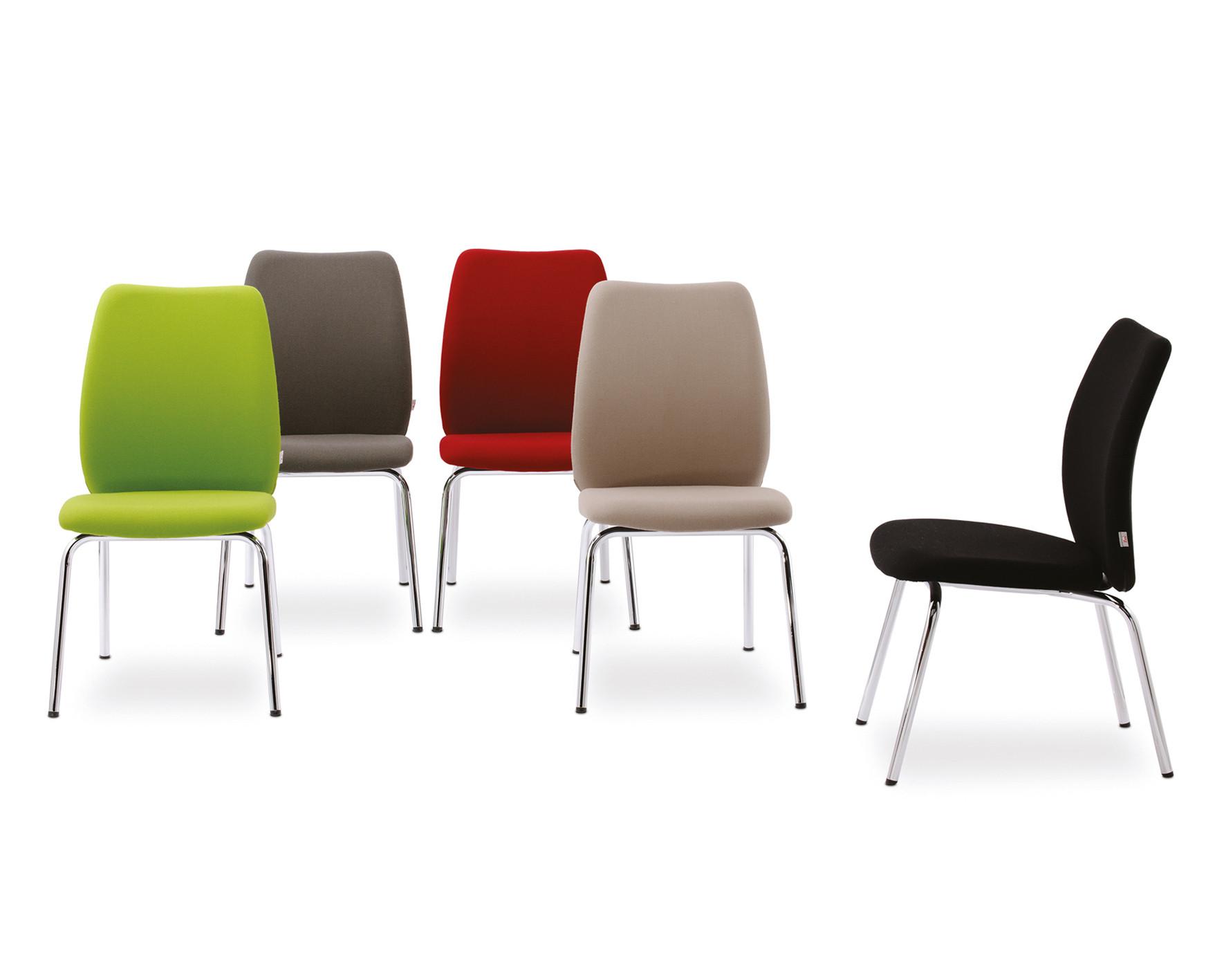 Besucherstuhl Konferenzstuhl Feeling Gruppe mehrere Farben