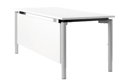 Schreibtischsysteme Zubehör Knieraumblende weiß
