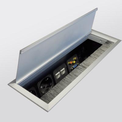 Schreibtischsysteme Zubehör Netbox combi offen