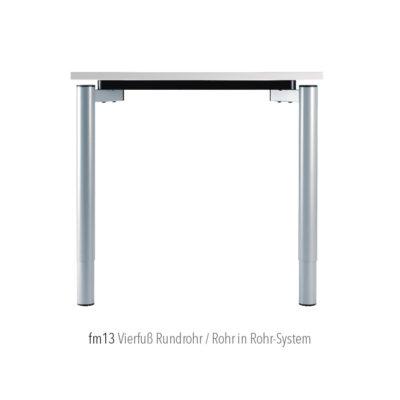 Produkte Schreibtischsysteme Gestellübersicht fm13