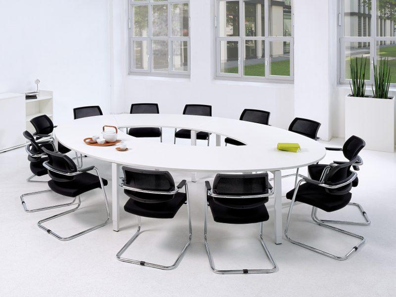 Konferenz und Meeting Communication Design Ellipse